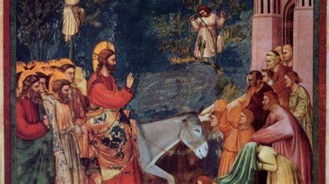 ingresso a gerusalemme l ingresso di ges 249 a gerusalemme tra bibbia e arte un