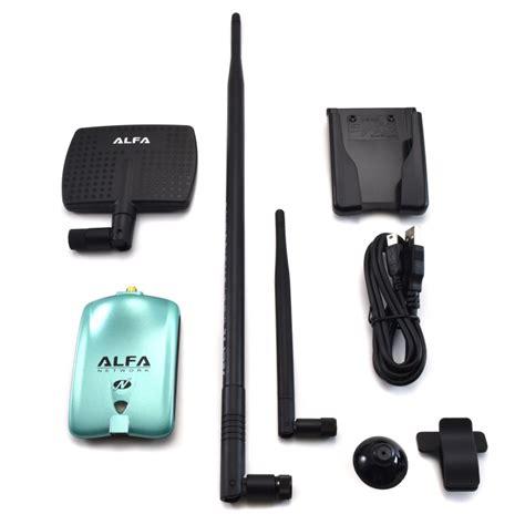 Usb Wifi Alfa Awus036nh alfa awus036nh wireless n adapter 2000mw 7dbi antenna