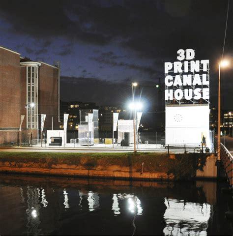 canal house 3d print canal house arcam