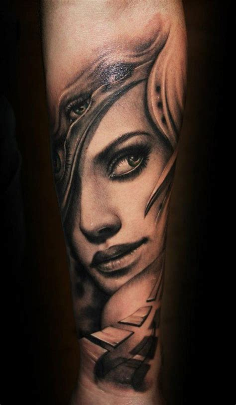 tattoo face with printer ink 45 awesome portrait tattoo designs portrait tattoos