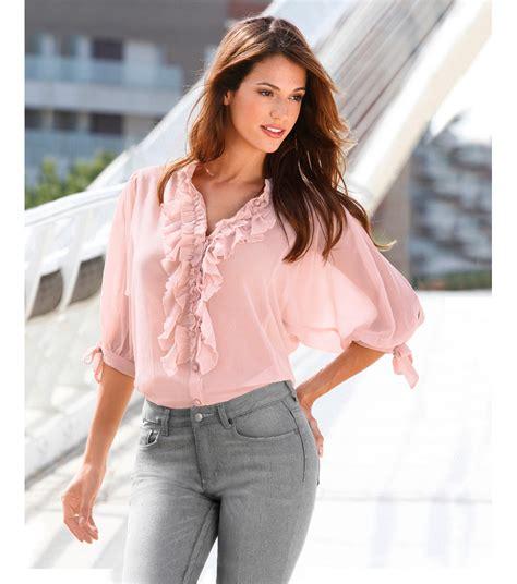 blusa mujer le vertige primavera verano 2013 002 car interior design blusas de volantes en crepe 4 blusas de moda 2018
