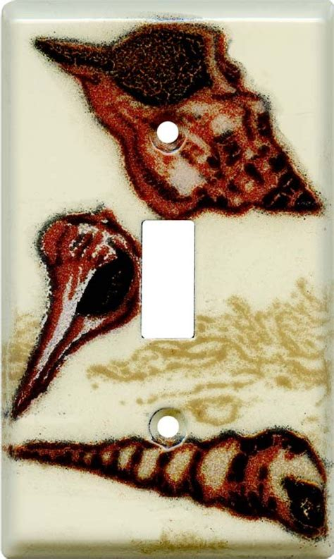 seashell light switch cover seashells light switch plates outlet covers
