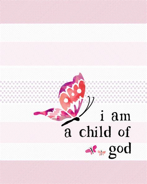 Baby Room Design free i am a child of god printable lil luna