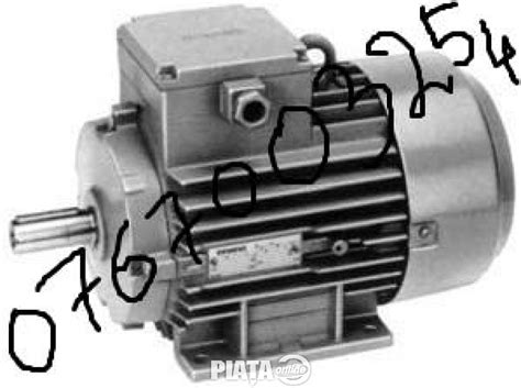 Vand Motor Electric Monofazat by Motor Electric Monofazat 2 2kw 1500 Rotatii Cupru Garantie