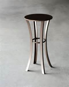 Drink Table by Quadrangle Metal Drink Table Side Table By