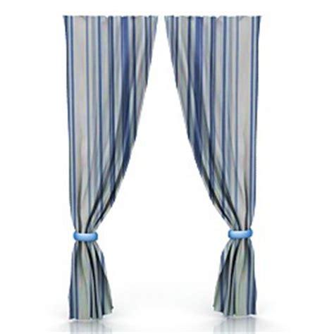 Curtains, pillows, carpets & textile 3D Models   Curtain 3 N190811   3D model (*.gsm *.3ds) for