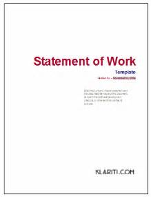 consulting sow template statement of work template instant free excel