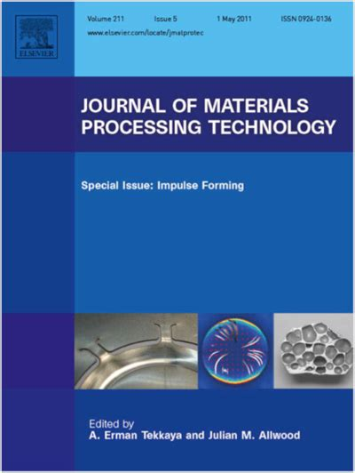 materials and design journal elsevier publication of a special topic issue of the journal of