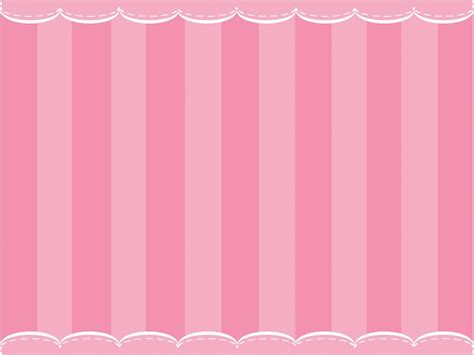 cute pink curtain powerpoint templates objects free