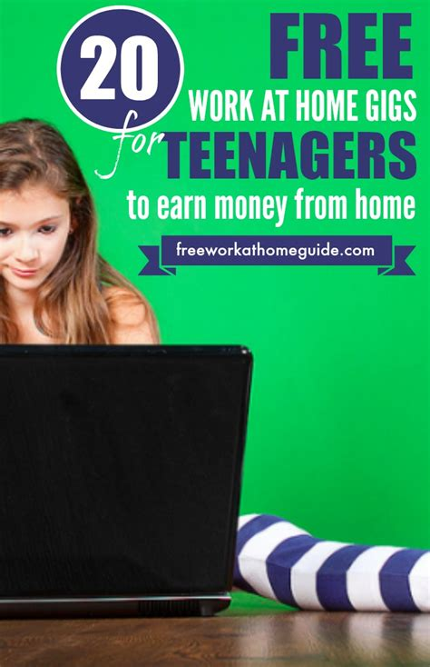 20 free work at home gigs for to earn money