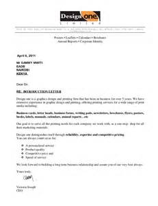Cover Letter To Company by How To Write A Letter Introducing Company Cover Letter