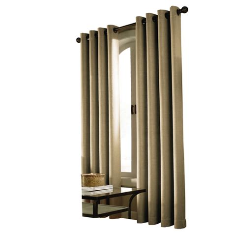 Allen And Roth Window Treatments - allen roth linen milton window panel drapes at lowes window treatments furniture