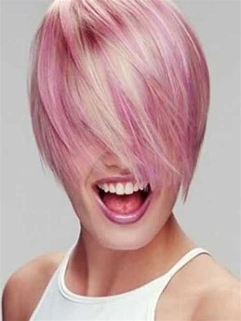 Short Hairstyles Pink Color | short hairstyles pink color the best short hairstyles