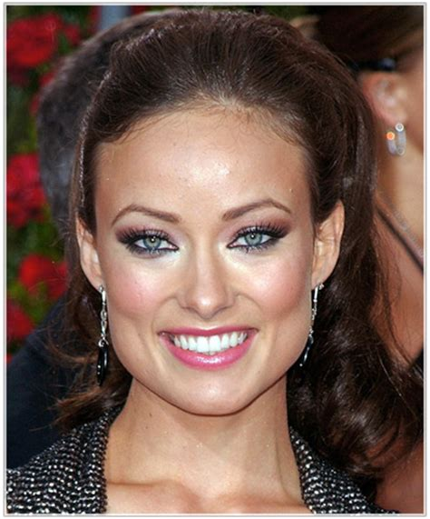 celebrities with square shaped faces olivia wilde s hairstyles for square shaped faces