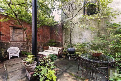 backyard restaurant park slope one bedroom co op inside a romanesque revival mansion asks