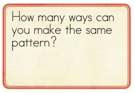 pattern problem solving questions 19 best images about math patterns on pinterest coins