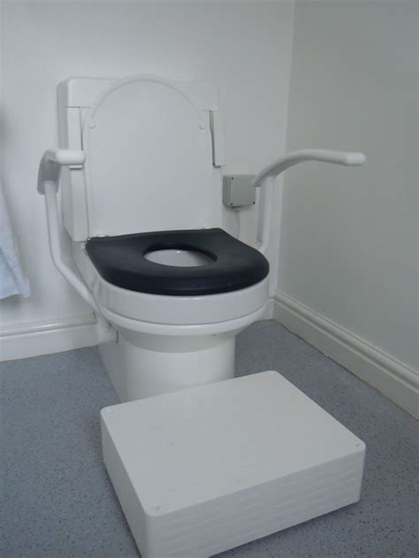 Automatic Toilet Washer Disabled Adaptations By Building Contractor Simon Bailey