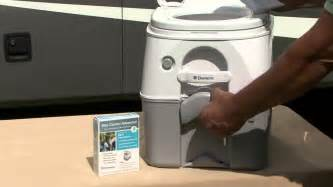 Pontoon Bathroom Dometic 970 Series Portable Toilet For Camping Youtube