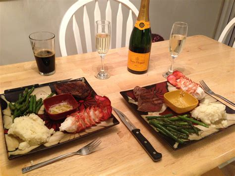 Romantic Dinner Recipes by My Wife And I Couldn T Go Out To A Fancy Dinner For Our