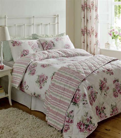 Vintage Floral Bedding Sets Vintage Floral Duvet Set Luxury 300 Tc Catherine Lansfield Sateen Bed Linen Ebay