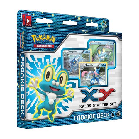card starter deck froakie kalos starter theme deck trading card