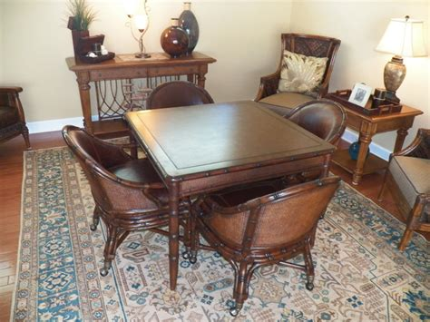tommy bahama dining room furniture tommy bahama card table and chairs