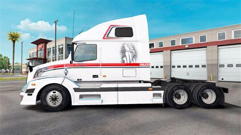 american volvo volvo vnl 670 for american truck simulator
