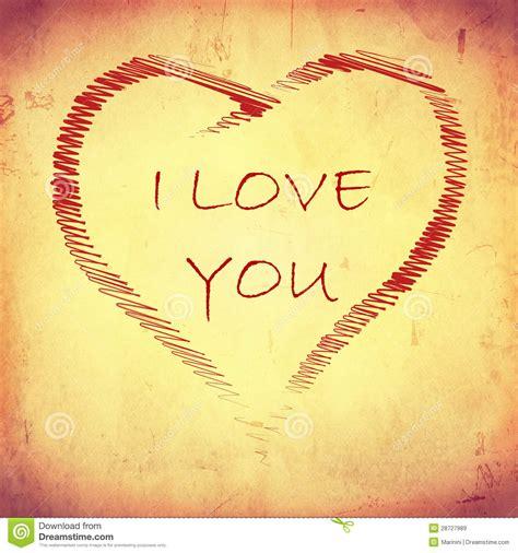 corazones rayados imagenes de archivo imagen 31017594 te amo en coraz 243 n rayado en el papel viejo beige im 225 genes