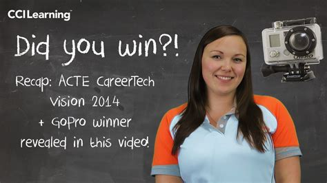Gopro Giveaway Winner - acte vision 2014 nashville gopro winner special classroom offer cci learning blog