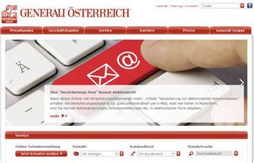Kfz Versicherung Berechnen Generali Sterreich by Generali Versicherung Online Berechnen Und Vergleichen