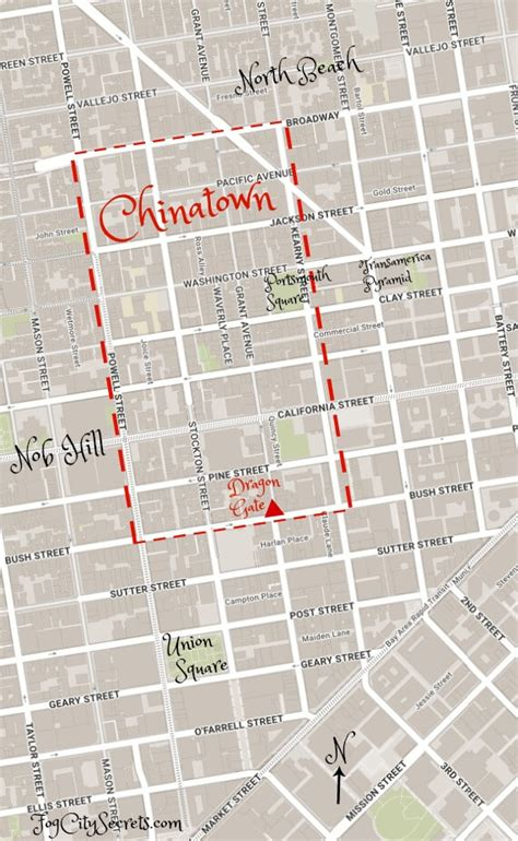 san francisco map of chinatown map of chinatown sfo pictures to pin on pinsdaddy