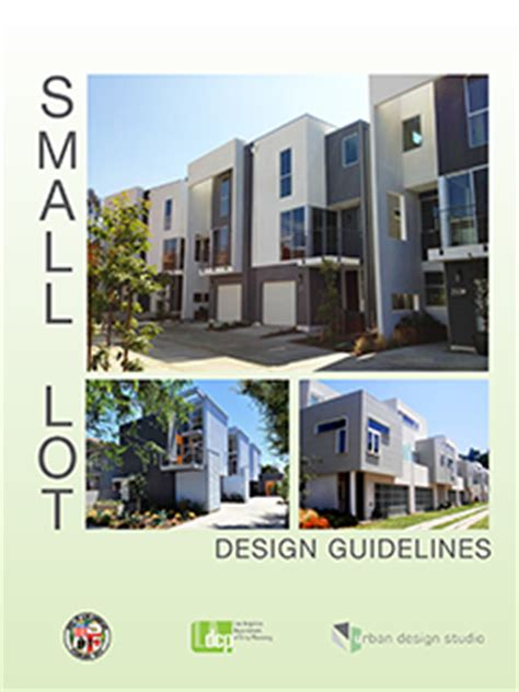 urban design guidelines victoria small lot design guidelines urban design studio city