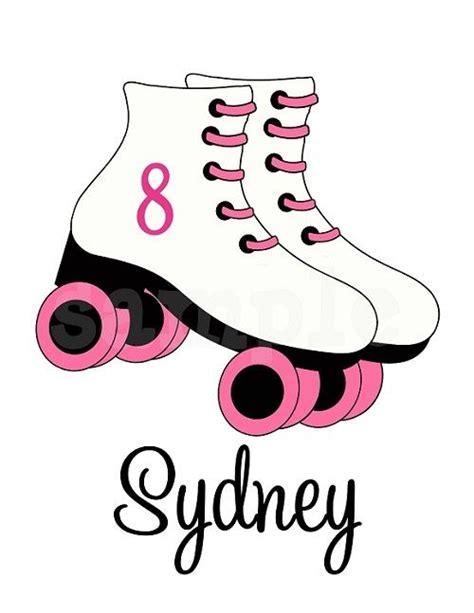 design t shirt rollerblade personalized girls roller skating t shirt personalized