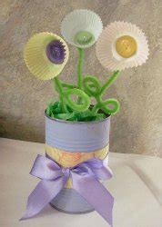 Cupcake Flower Vase by Cupcake Flower Vase Allfreeholidaycrafts
