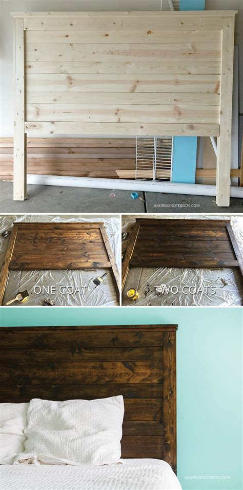 Make Your Own Wooden Headboard by Make Your Own Diy Rustic Headboard Andreasnotebook