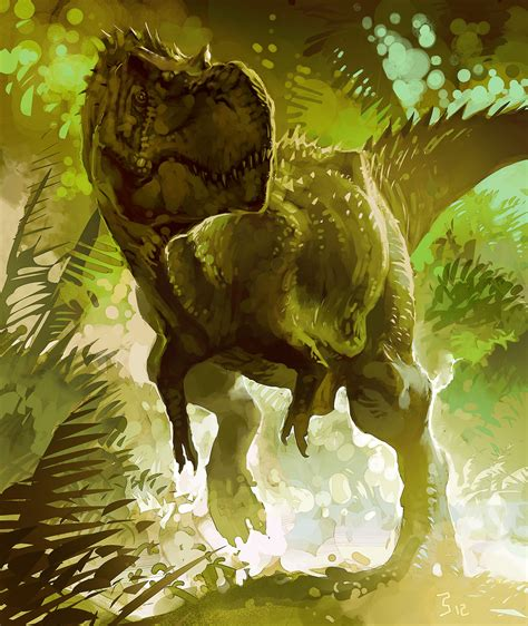 painting dinosaurs the king of fatboss epac t rex speed painting