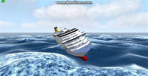lego boat sinking in pool costa pacifica sinking cruise ship sinking costa pacifica