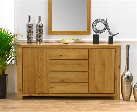 tempo Solid Oak Sideboard   review, compare prices, buy online