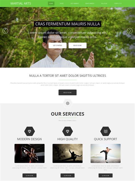 Judo Karate Web Template Martial Arts Website Templates Dreamtemplate Karate Website Template
