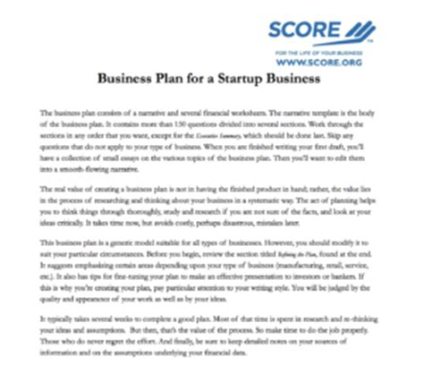 business plan template 12 great exles to save your time