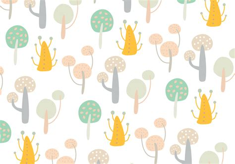 abstract tree pattern abstract tree shape pattern download free vector art