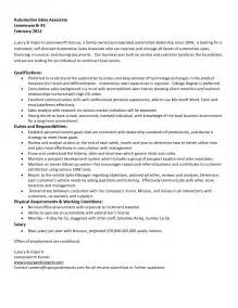 Sles Of Assistant Resumes by Sales Resume Retail Sales Resume Exles Retail Sales