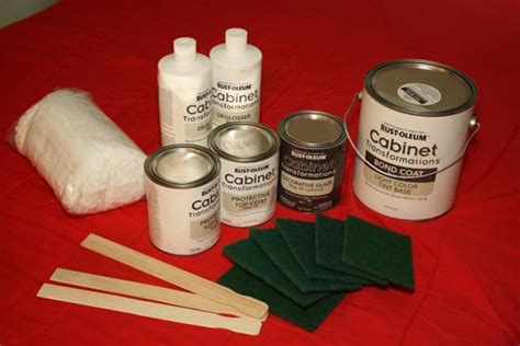 kitchen cabinet restoration kit rust oleum cabinet transformations review before and after