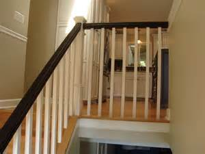 Stairs Banister Designs Kitchen Remodel Annapolis Split Foyer Home