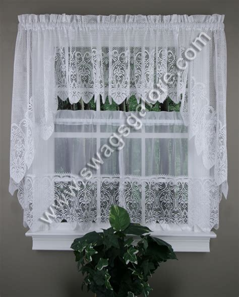 kitchen curtains swags valerie kitchen curtains swags valances tiers united