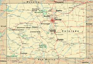 map of counties in colorado colorado map