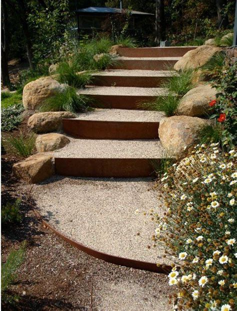 garden stairs ideas best 20 landscape stairs ideas on pinterest