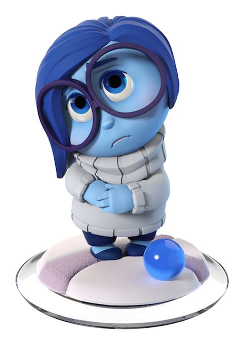 Inside Out Original Product Of Disney Pixarsadness Coin Bank disney infinity inside out figure sadness
