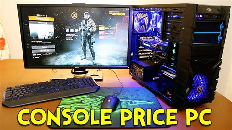console for pc how is a console price pc