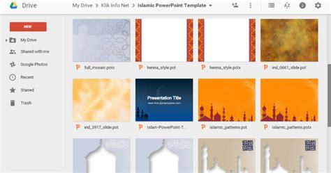 download film edukasi islami template powerpoint bertema islami untuk presentasi